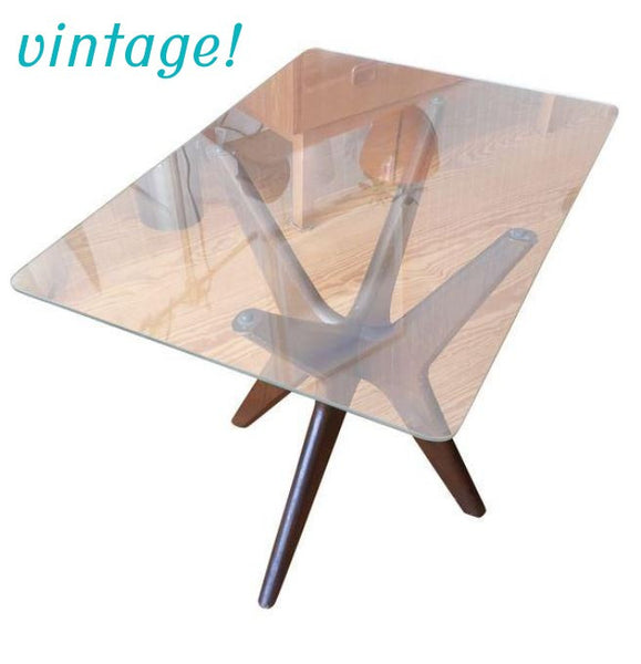 "Adrian Pearsall ""Jacks"" Walnut Side Table - touchGOODS"