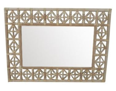 Rectangular Diamond Pattern Mirror | touchGOODS
