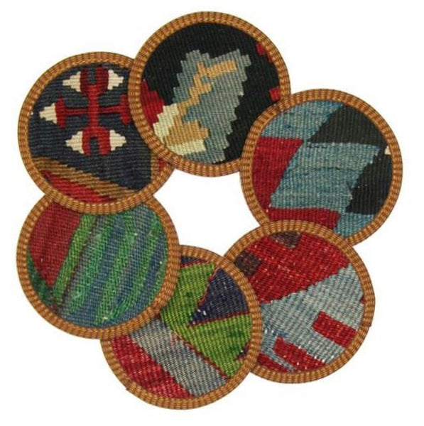 Assorted Kilim Coasters | touchGOODS
