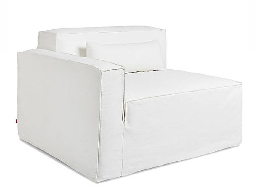 Mix Slipcover Right Arm Chair | touchGOODS