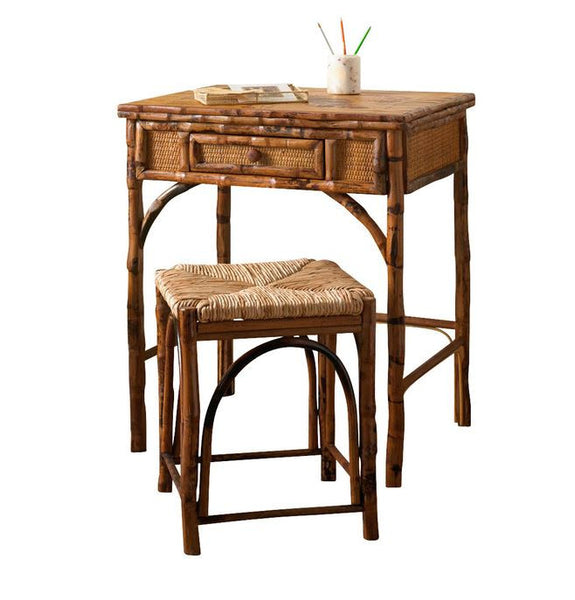 Bamboo Writing Desk With Stool - touchGOODS
