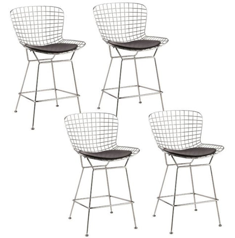 Bertoia Style Counter Stools - Set of 4 - touchGOODS