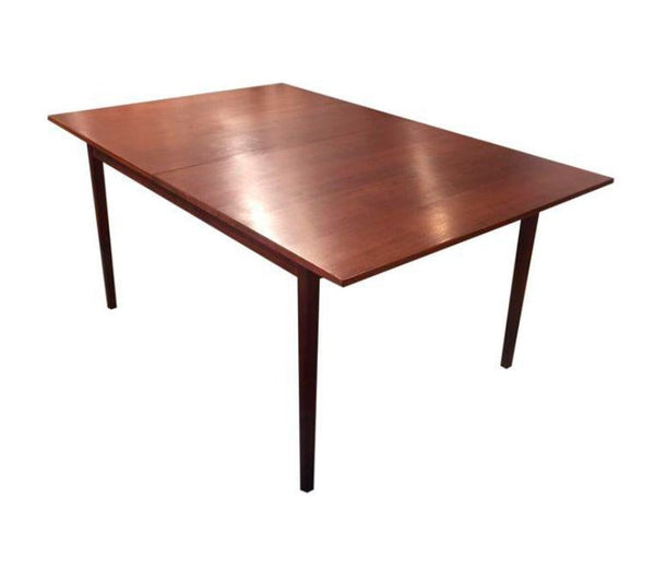 Mid-Century Danish Walnut Dining Extension Table - touchGOODS