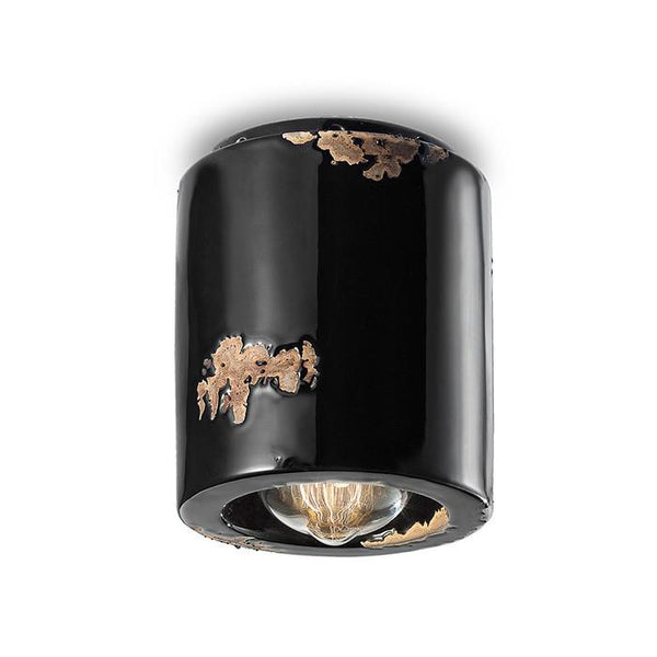 Ferroluce Vintage Cilindro Ceramic Ceiling Light C986 | touchGOODS