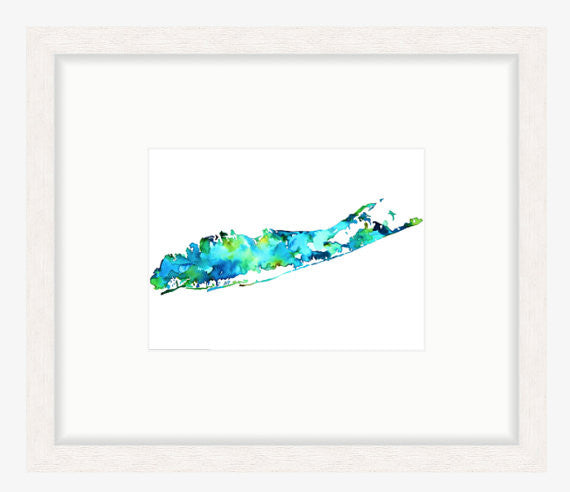Long Island Watercolor by Jackie Maloney | touchGOODS