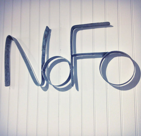 NoFo Barrel Ring Wall Art Inspired by Long Island's North Fork - touchGOODS