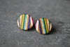 ZIGZAG STUD EARRINGS | touchGOODS