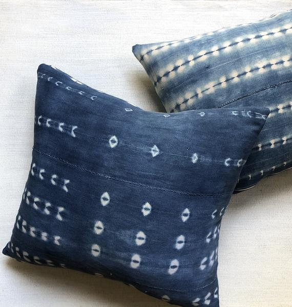 INDIE Indigo Throw Pillow | touchGOODS