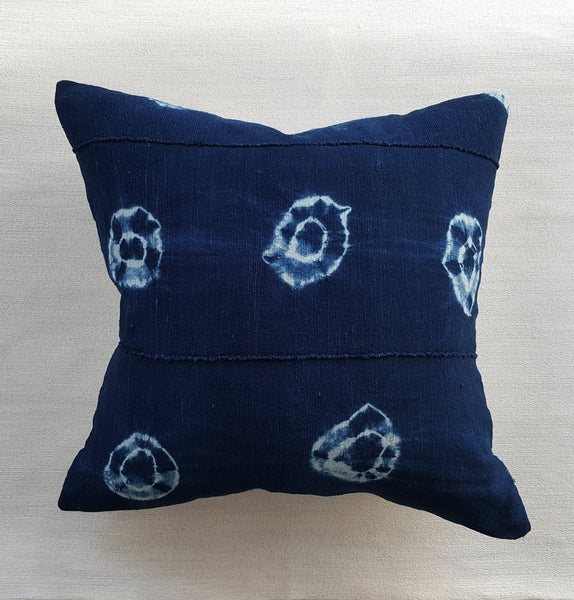 Copy of Sadie Tie Die Indigo Pillow - touchGOODS