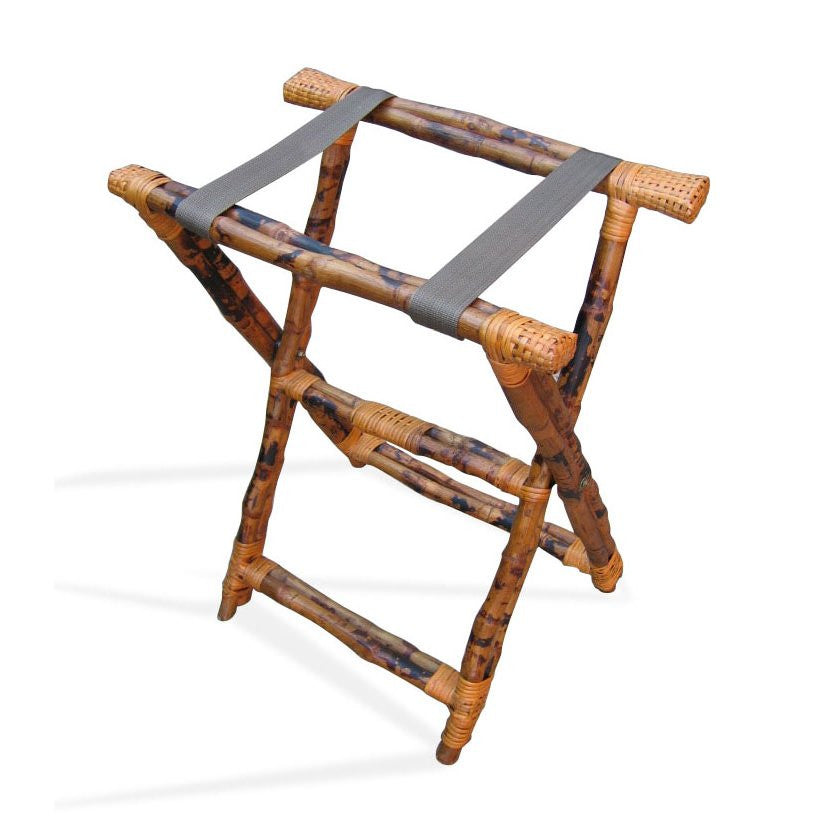 Bamboo Folding Luggage Stand - touchGOODS