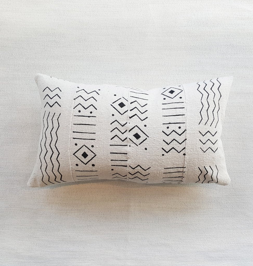 NADU mudcloth throw pillow | touchGOODS