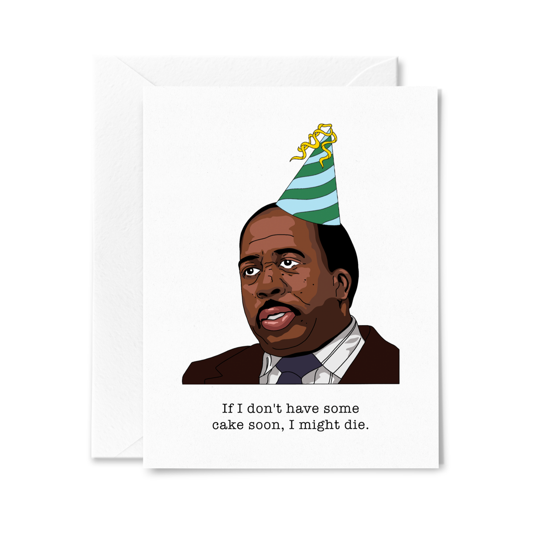 Stanley Hudson Birthday Card