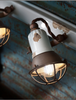Ferroluce Loft Wall Light with Cage C1677/1 | touchGOODS