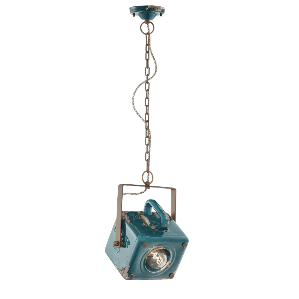 Ferroluce Industrial Pendant Light C1652 | touchGOODS