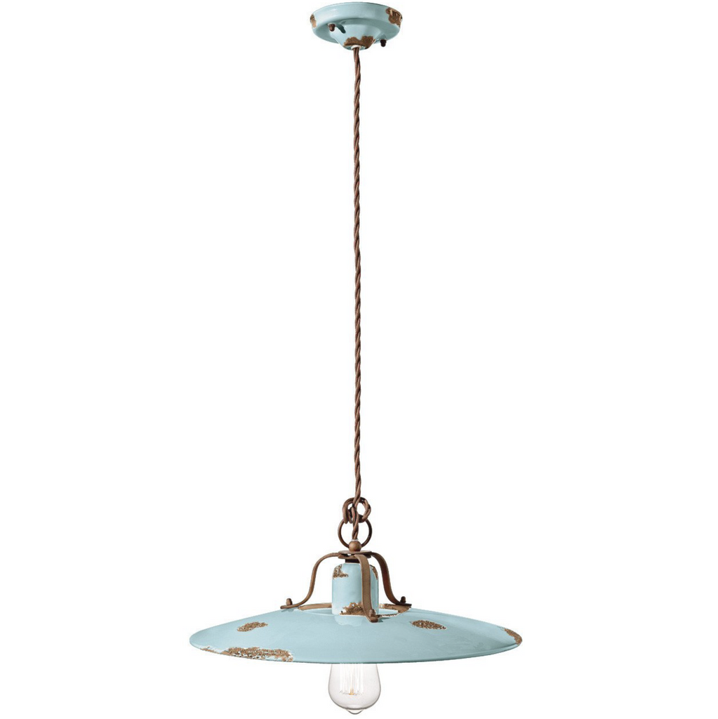 Ferroluce Country Ceramic Pendant Light C1443 | touchGOODS