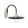 Ferroluce Black & White Ceramic Wall Light C001 | touchGOODS