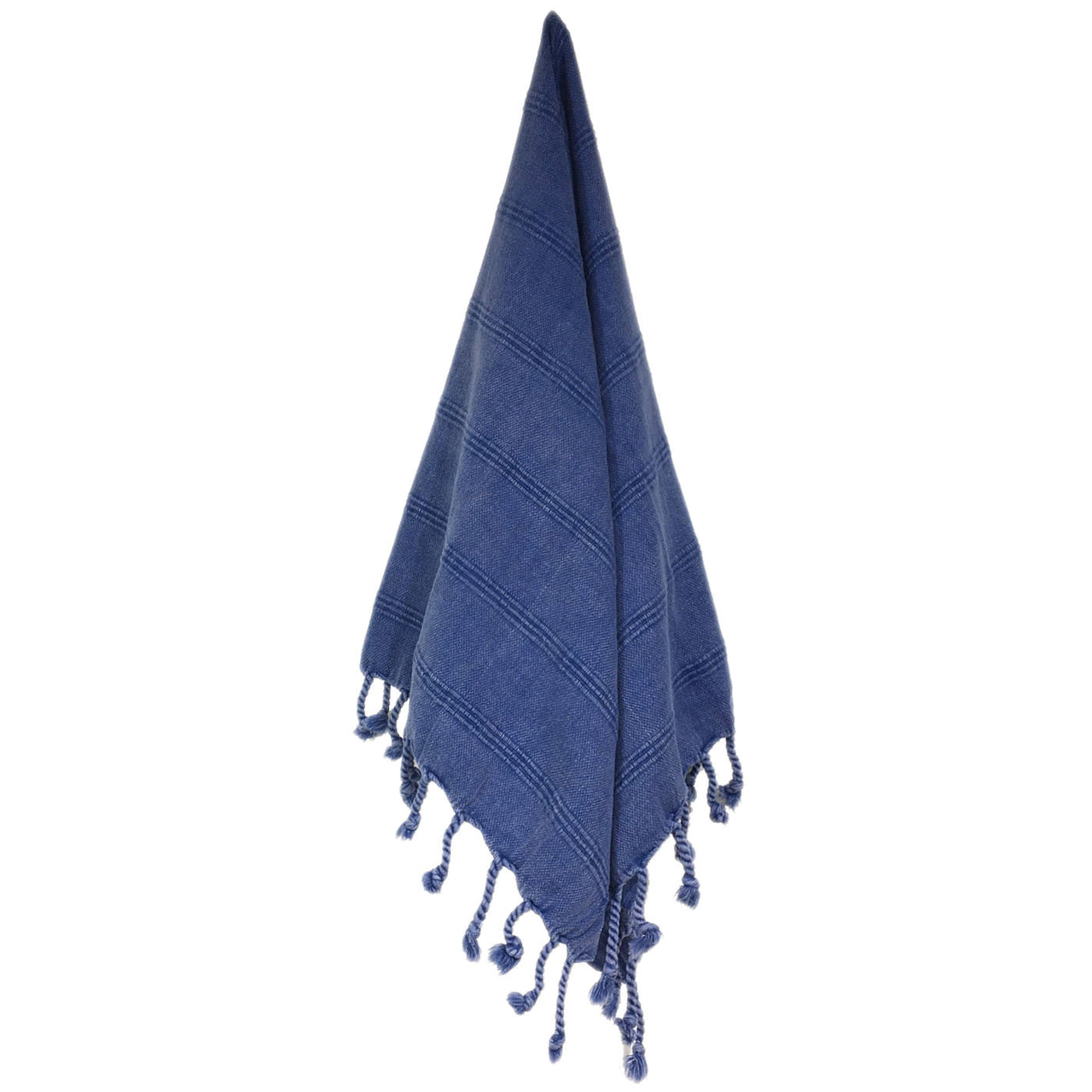 Stonewash Turkish Hand Towel - Denim