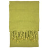 Stonewash Turkish Hand Towel - Pistachio | touchGOODS