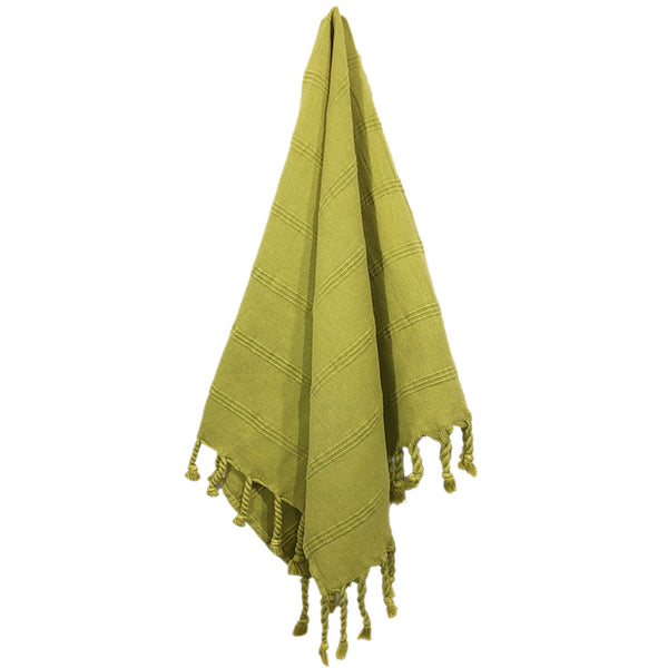 Stonewash Turkish Hand Towel - Pistachio