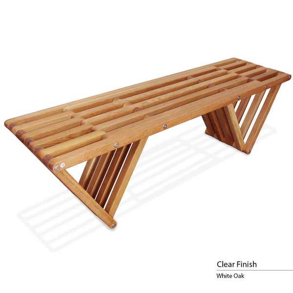 touchGOODS Premium White Oak Bench X60 | touchGOODS