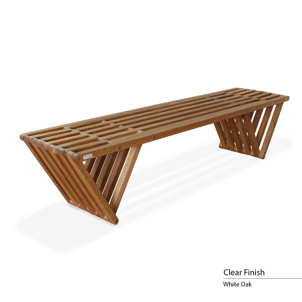 touchGOODS Premium White Oak Bench X70 | touchGOODS