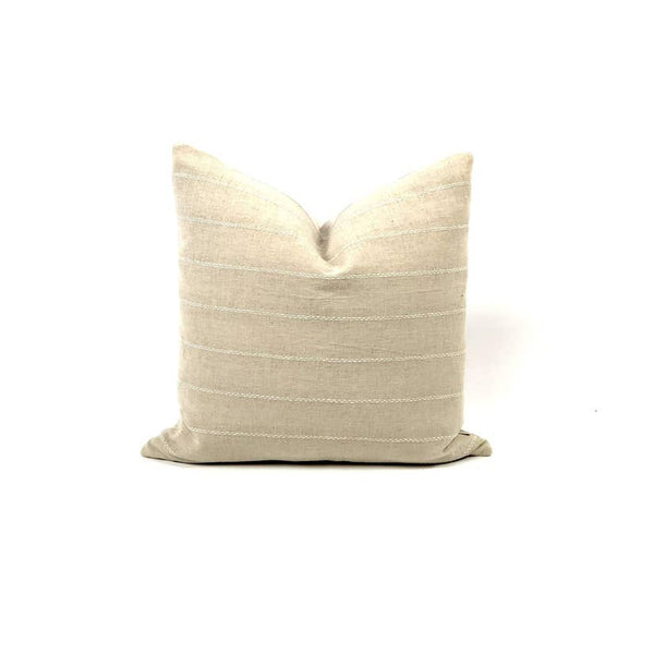 WUT Throw Pillow in Ivory