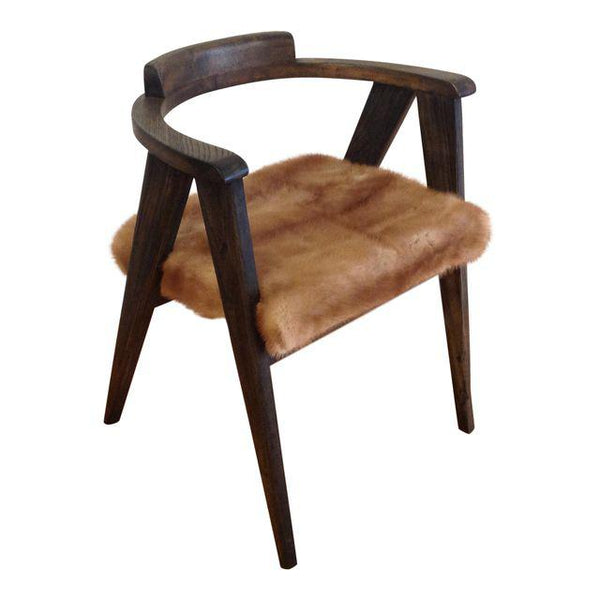 Allan Gould Style Compass Chair in Recycled Mink