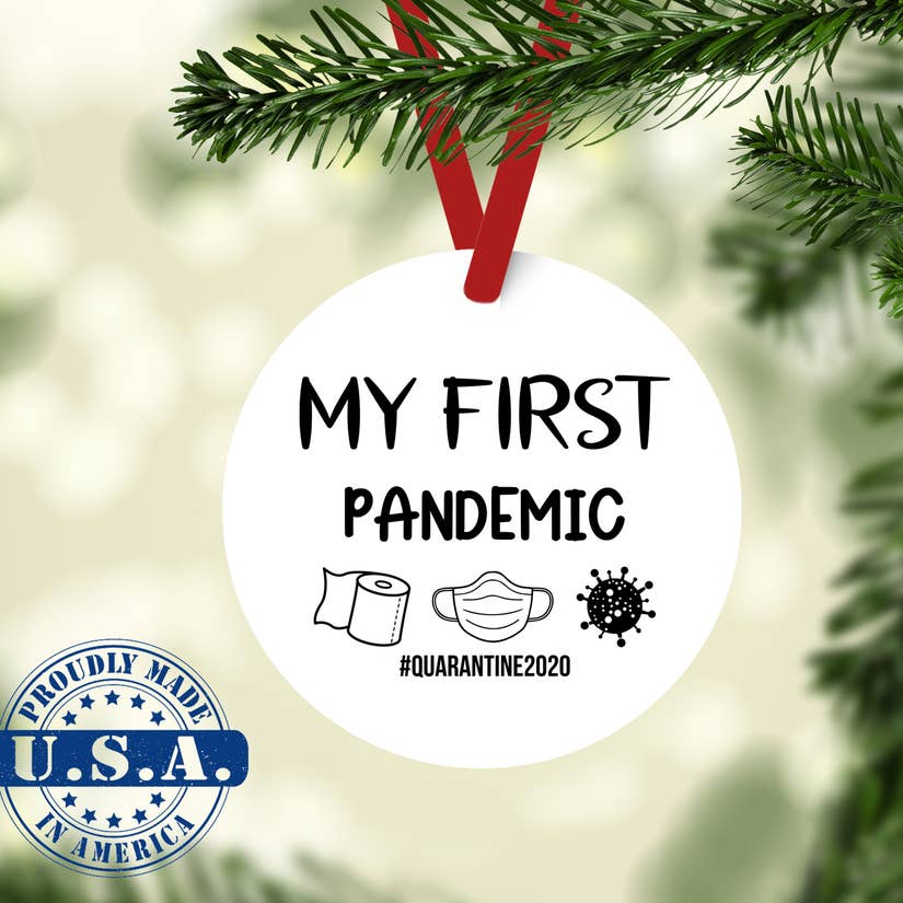 My First Pandemic Ornament