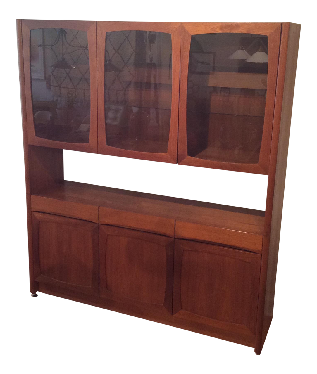 Danish Modern Teak Hutch By Nordic Furniture Inc Touchgoods