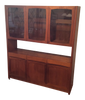 Danish Modern Teak Hutch by Nordic Furniture Inc. | touchGOODS