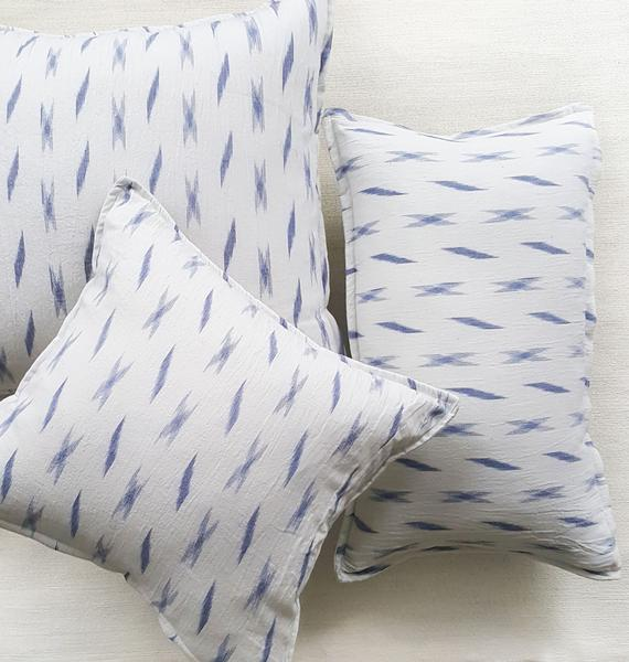 VEDA: handloomed ikat pillow | touchGOODS