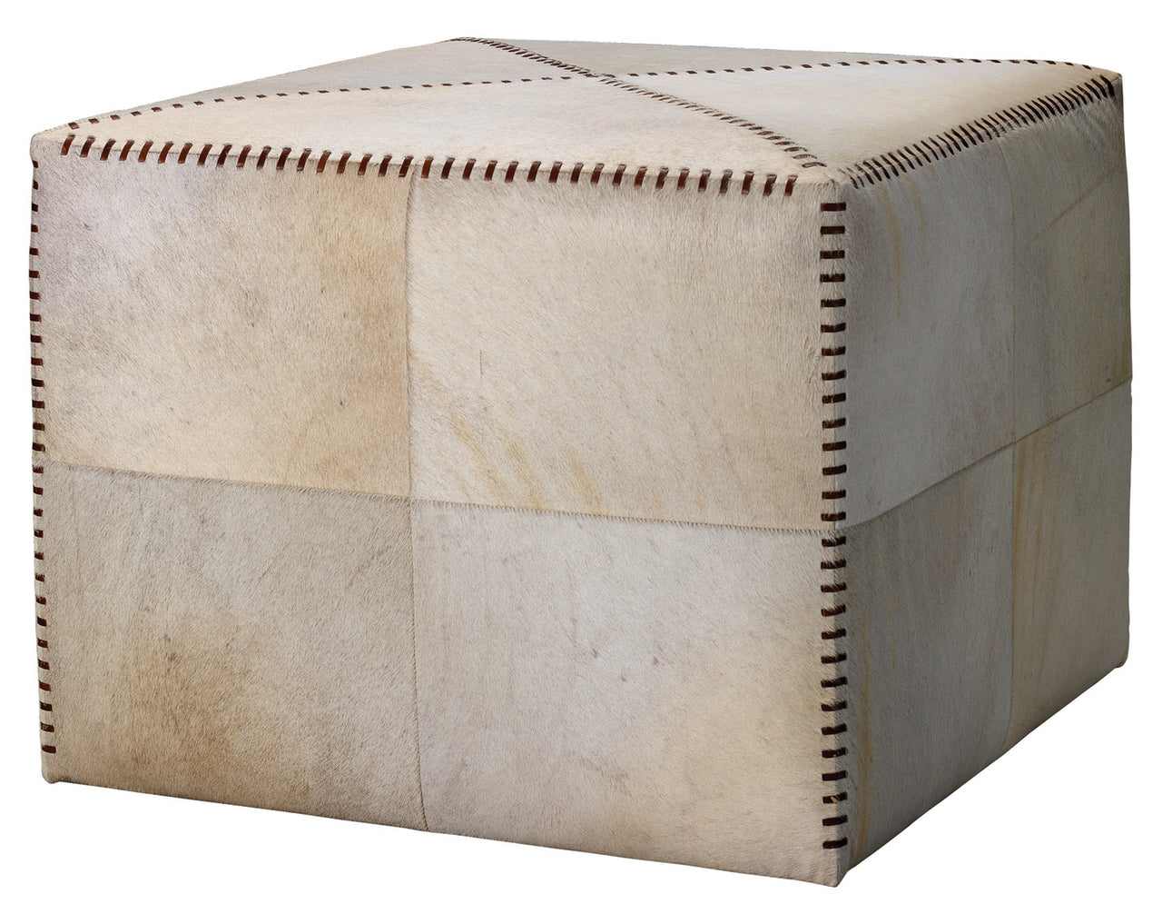 Hide Ottoman, Large | touchGOODS