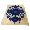Vintage Swedish Rya Wool Shag Rug - 4′8″ × 6′4″ | touchGOODS