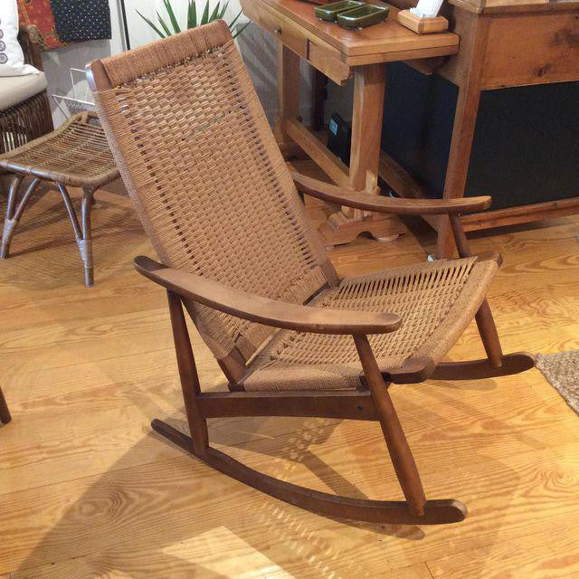 Vintage Mid-Century Rocking Chair | touchGOODS