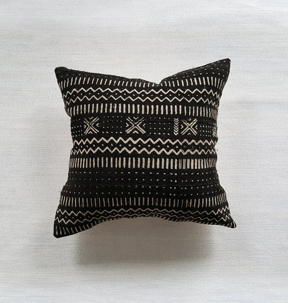 EBONY mudcloth throw pillow - touchGOODS
