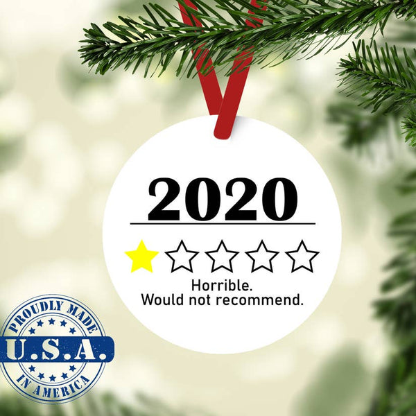 2020 Review Ornament