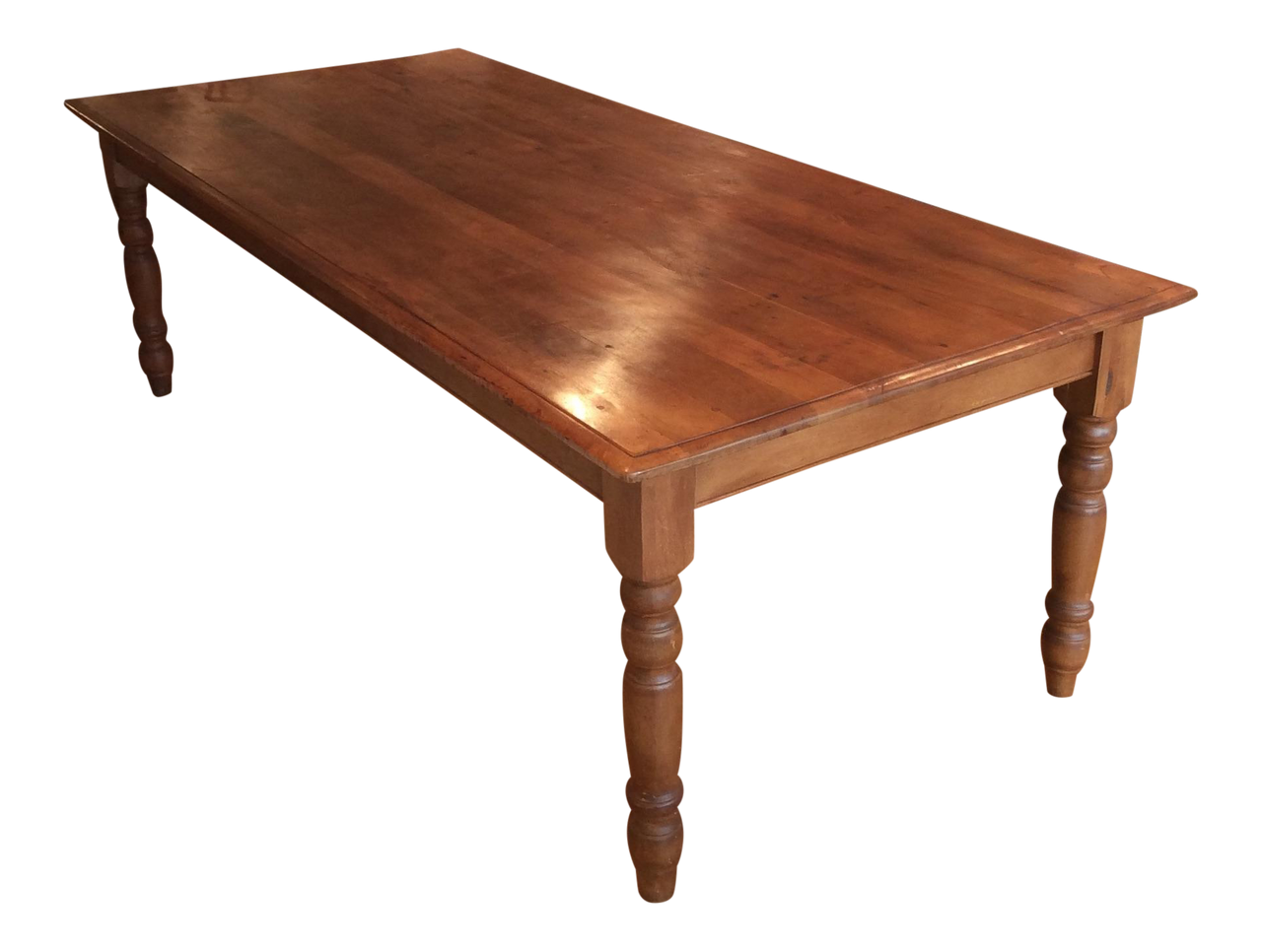 Reclaimed Cherry Farmhouse Dining Table - touchGOODS