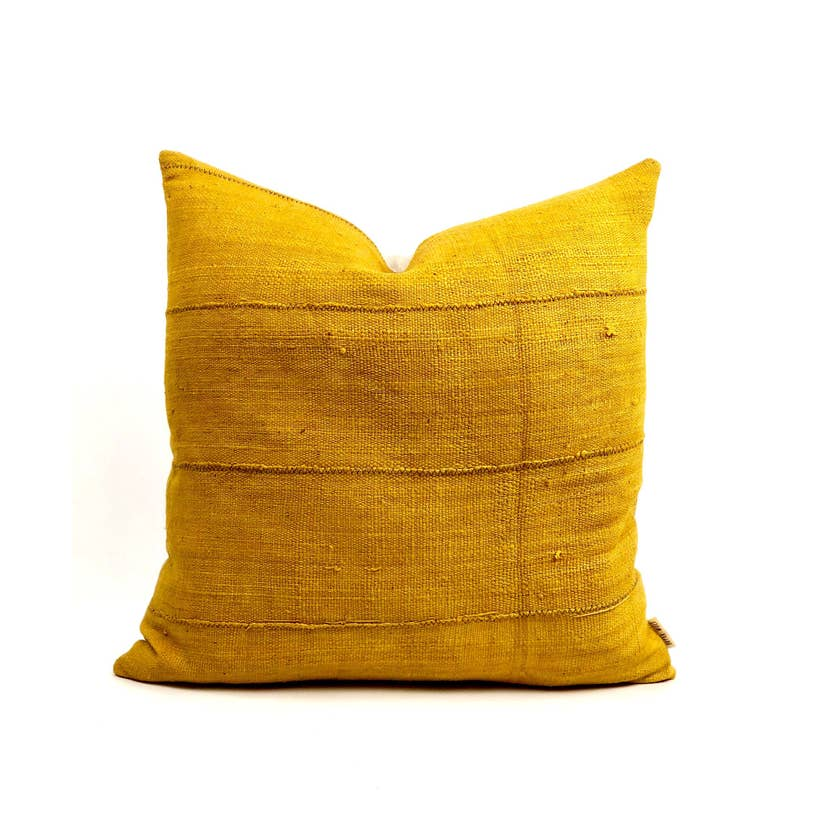 Ata African Mudcloth Handmade Decorative Throw Pillow