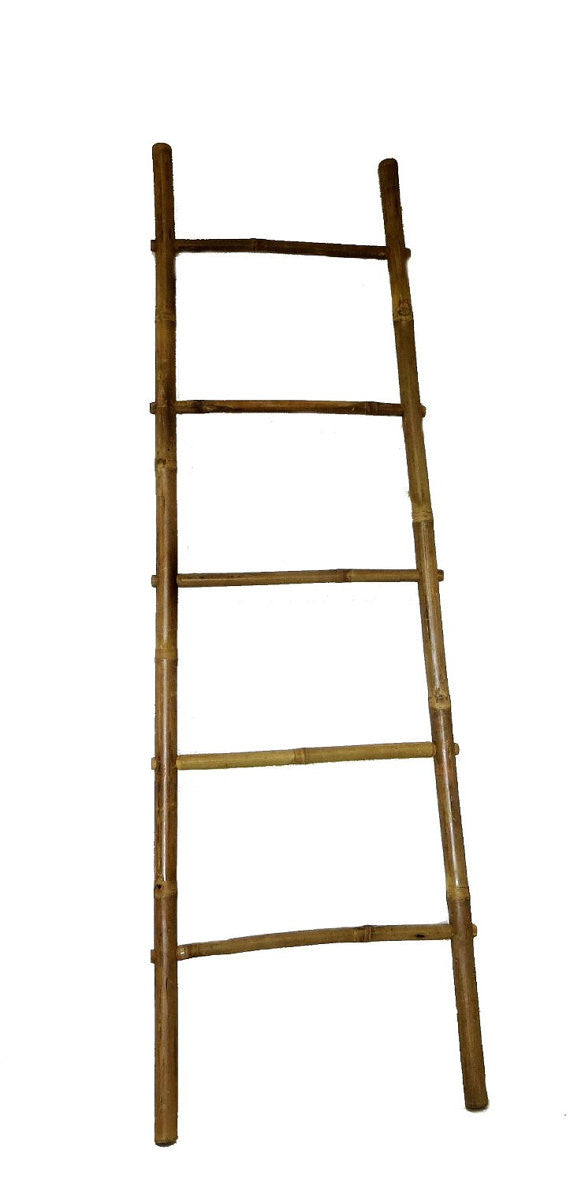 Bamboo Ladder Rack - touchGOODS