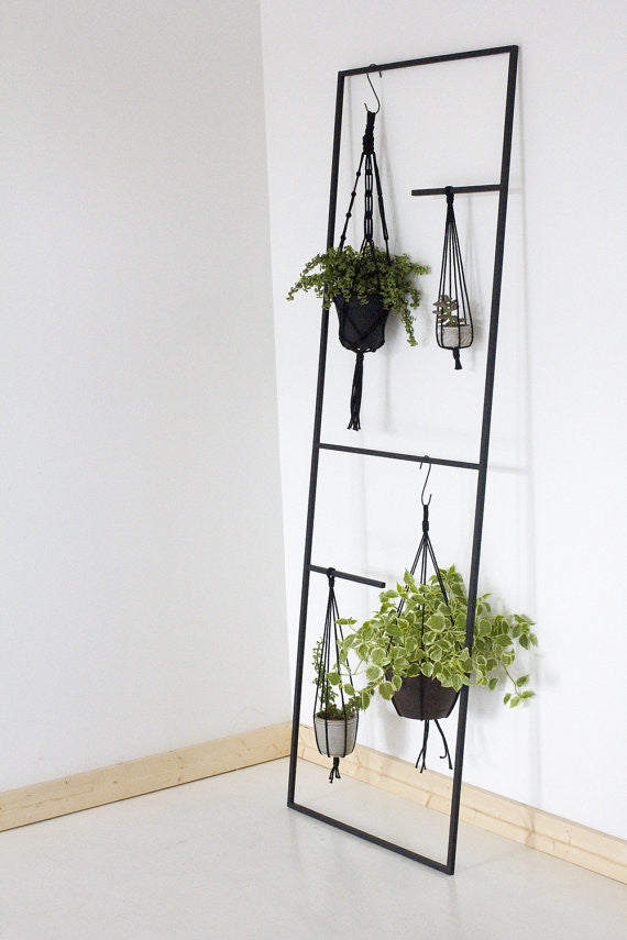 Hand-Welded Leaning Display Ladder - touchGOODS