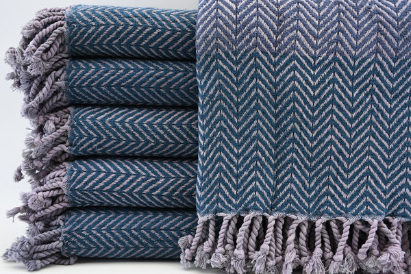 Peshtemal Turkish Bath Towel ~ Navy | touchGOODS