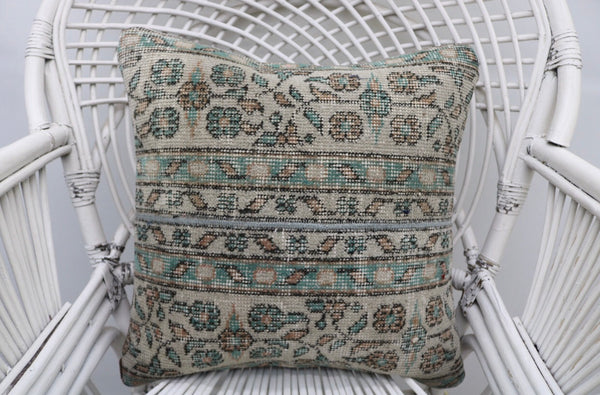 Decorative Turkish Geometric Rug Pillow | touchGOODS