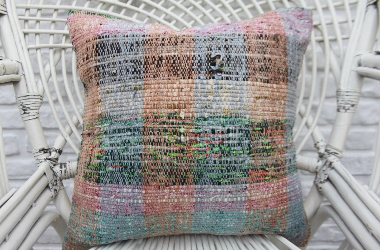 Decorative Turkish Kilim Throw Pillow | touchGOODS
