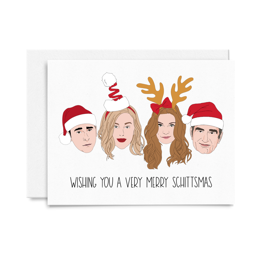 Very Merry Schittsmas Card