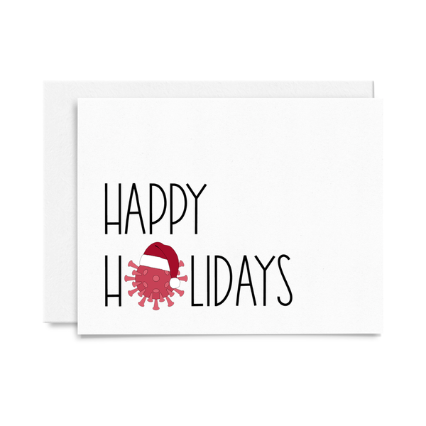 Happy COVID Holidays Card