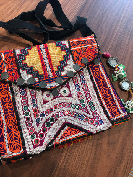 Bohemian Indian Sling Bag - touchGOODS