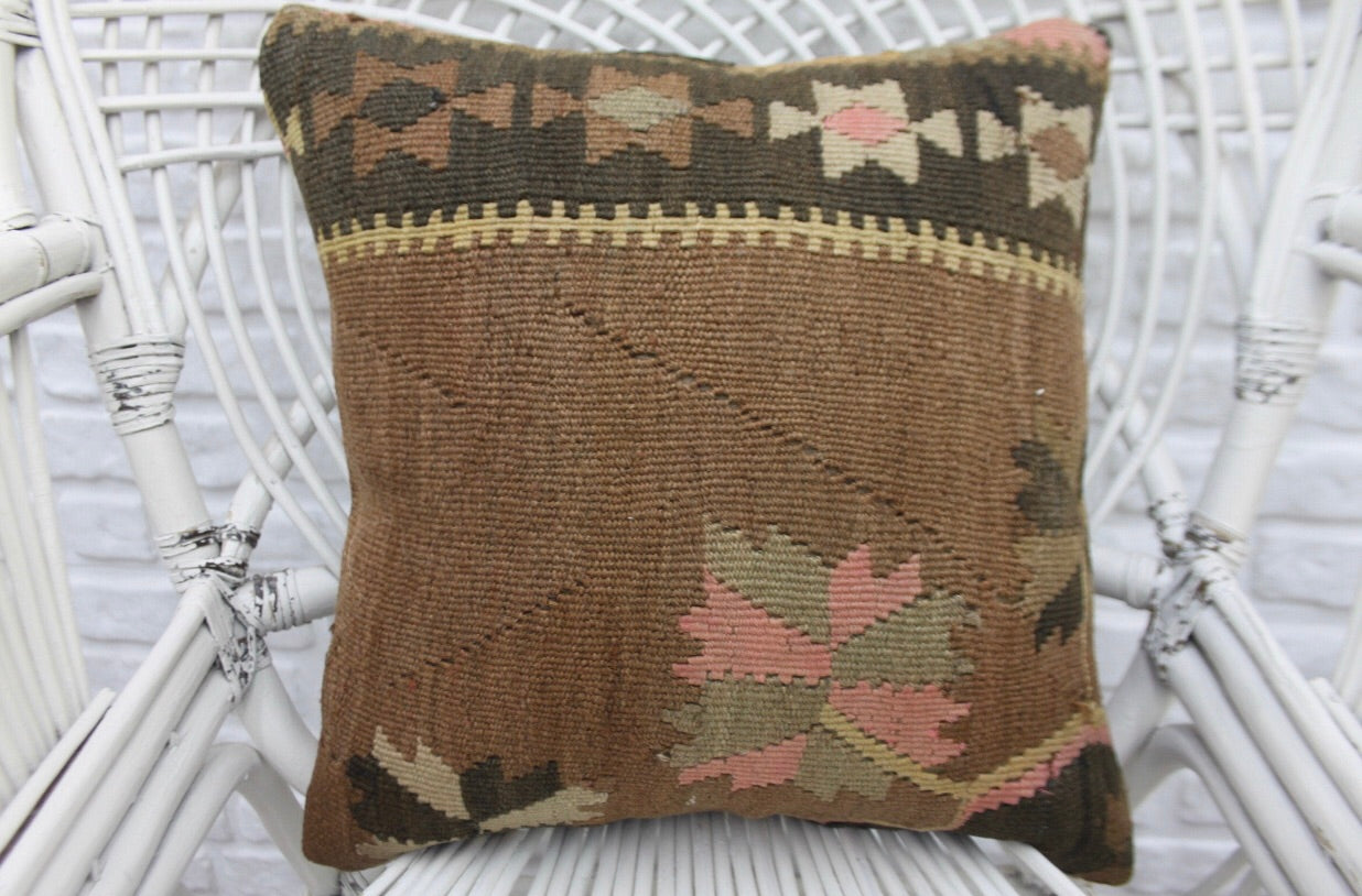 Decorative Turkish Kilim Pillow | touchGOODS