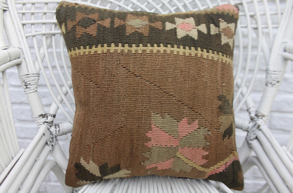 Decorative Turkish Kilim Pillow - touchGOODS