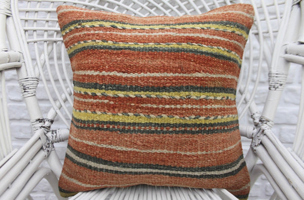 Decorative Turkish Kilim Throw Pillow - touchGOODS