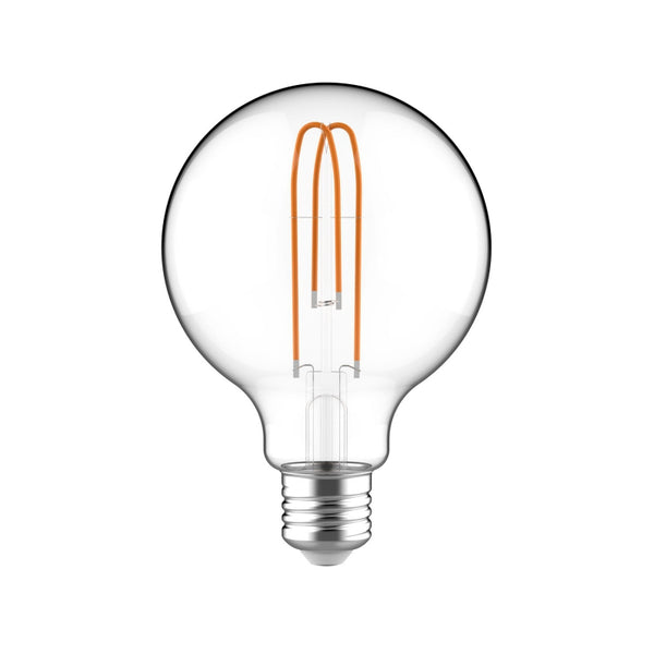 Large Light Bulbs - G30 Globe Shape - Clear Glass | touchGOODS